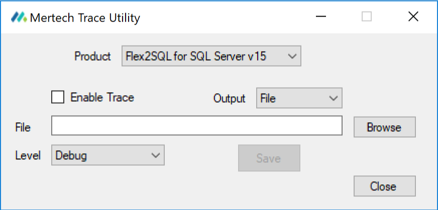 Mertech's Trace Utility for advanced debugging