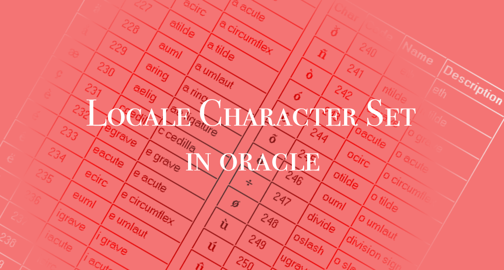 How Locale (Character Set) Choices Affect Your Btrieve Data in Oracle